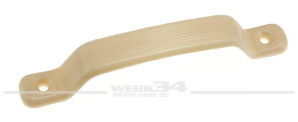 Zuziehgriff für Vordertüren, passend für 08/65-07/67, Farbe: elfenbein