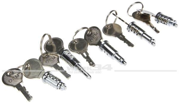 Satz Schließzylinder passend für Bus T1 55-07/63