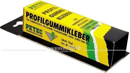 PETEC Profilgummikleber 70ml, Grundpreis pro Liter: 98,57 Euro