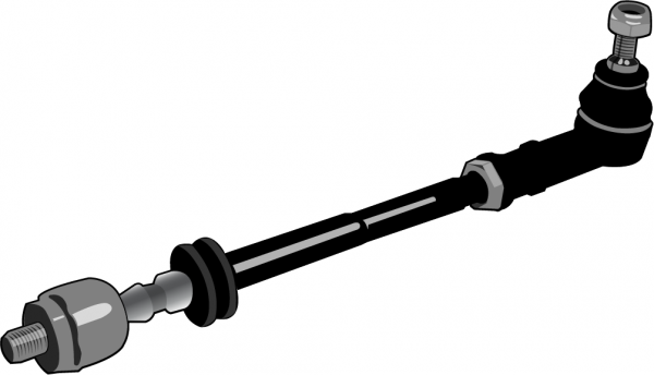 Spurstange-Lenkung