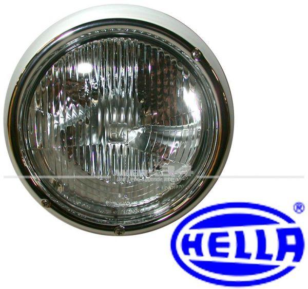 Scheinwerfer Hella H4 passend für Käfer und Typ 3 von 8/67-7/73