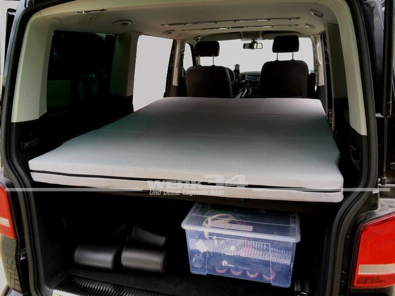 klappmatratze passend f r vw bus t5 und t6 camping und. Black Bedroom Furniture Sets. Home Design Ideas