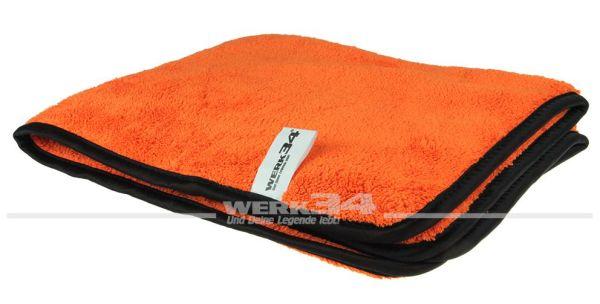 WERK34 Orange Allround Mikrofasertuch 340 x 340 mm