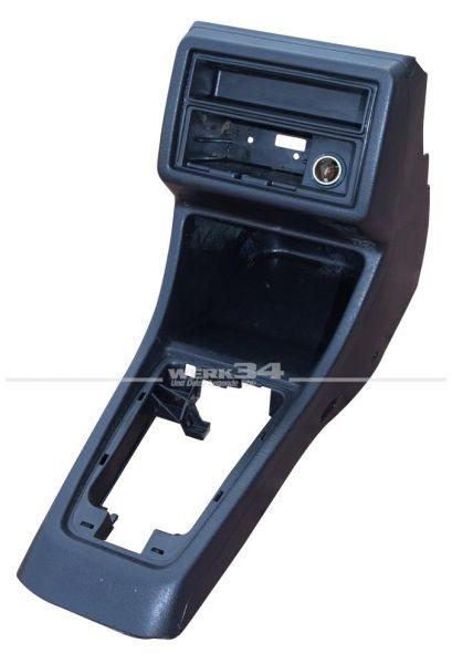 Mittelkonsole, schwarz, US-Version, gebraucht, passend für Golf II