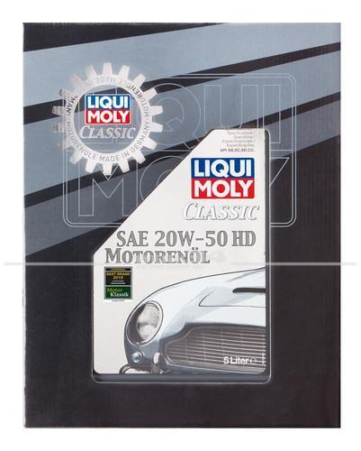 Liqui Moly Classic Motorenöl SAE 20W-50 HD (5 l), Grundpreis: 12,13 EUR pro Liter