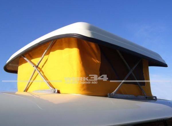 Zelt für Westfalia Hubdach, passend für Modelle von 08/63-07/67, maisgelb