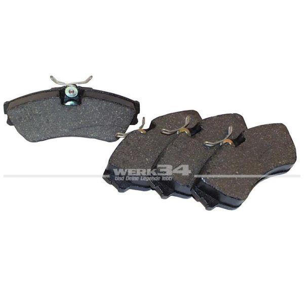 Bremsklötze, vorn, 19.2mm, Bus T4, 15 Zoll
