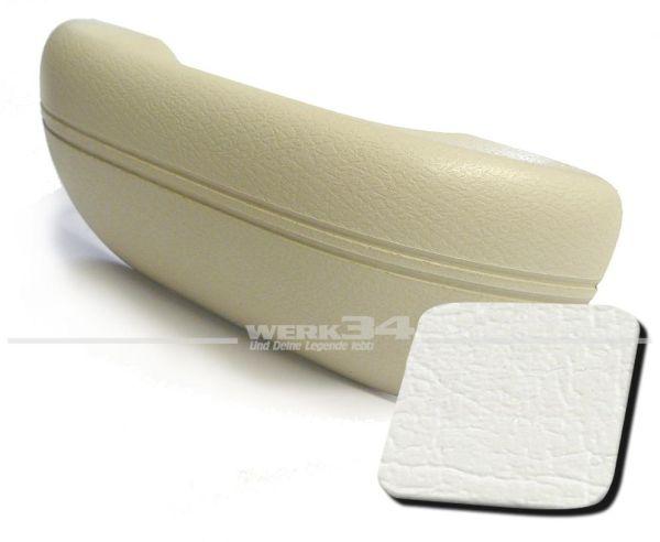 Armlehne weiß, passend für alle Modelle von 08/67-07/72 und 1302