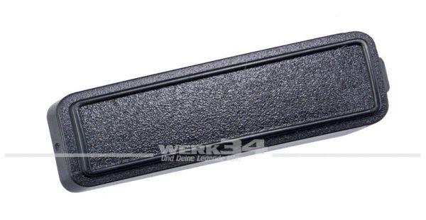 Abdeckkappe für Haltegriff, schwarz, passend für Golf/Jetta II, Polo/Derby II, Passat II, Santana