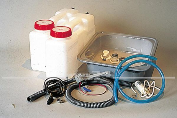 Kanisterwasseranlage Kompakt