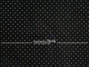 Innenhimmel PVC schwarz gelocht für Pritsche/ Fahrerhaus, passend für T2 von Bj 08/67-07/79