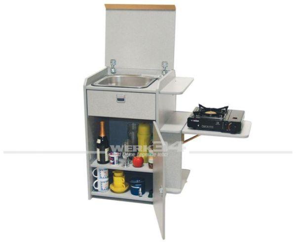 Multivan Küchenmodul als Bausatz, passend für VW Bus T4