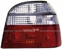 Rückleuchten Klarglas rot/weiß Golf III