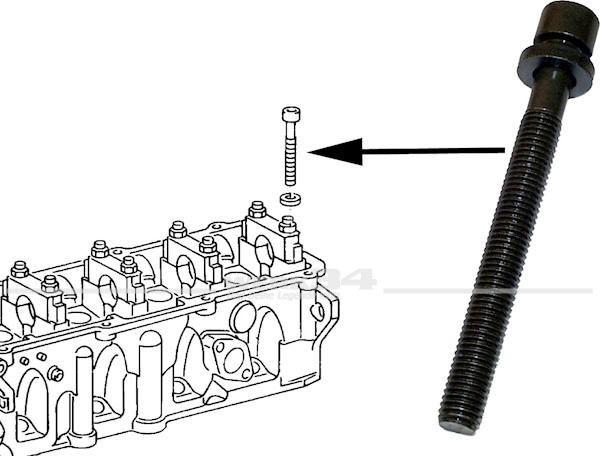 Zylinderkopfschraube M12x1.75x115mm, für  Diesel