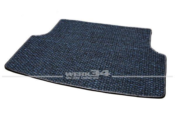 Kokosmatte, für Kofferraum hinten, passend für Typ 3 Variant und TL 61-73 , blau/schwarz