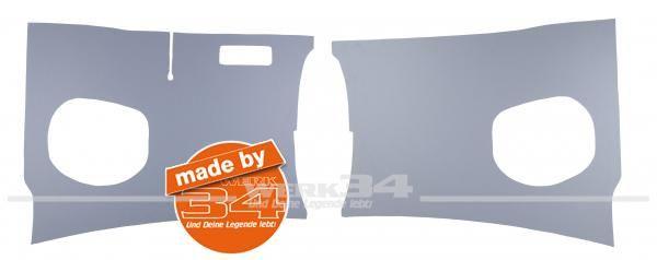 """Paar Vorderwandverkleidungen """"Kick Panels"""" in grau, passend für Modelle von 60-63"""