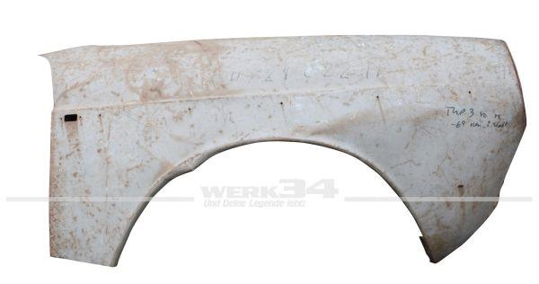 Kotflügelabschnitt vorn rechts, passend für Typ 3 bis Bj. 7/67