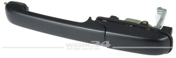 Türgriff, hinten links, schwarz, passend für Passat 93-96