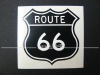 "Aufkleber ""ROUTE 66"""