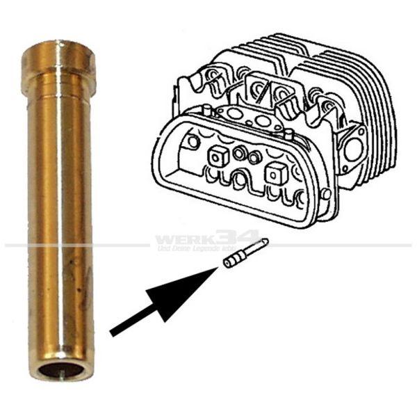 Ventilführung, einlass, 8 mm für 1,2-1,6 L, Bj. 08/60-04/79 / 1,9-2,1 L, Bj. 08/82-07/92 Bus, T2, Ventile,
