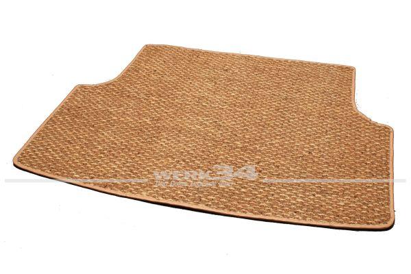 Kokosmatte, für Kofferraum, passend für Typ 3, 61-73 alle Modelle, beige/braun