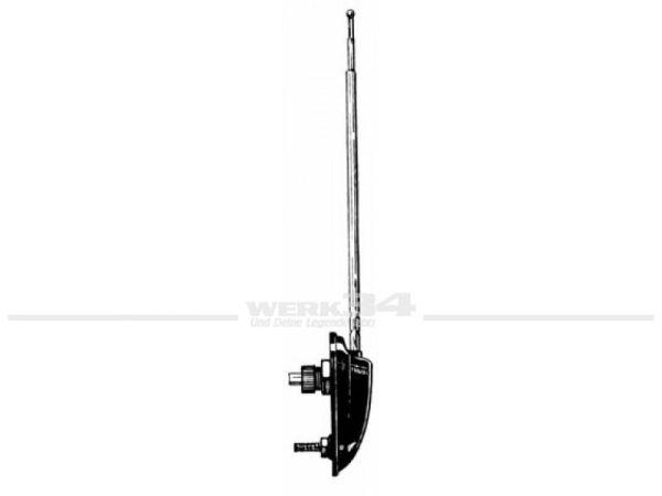 Antenne, schwarz, passend für verschiedene Modelle