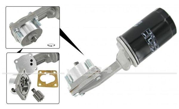 Ölpumpe mit Filter, passend für Nockenwellen mit 3-Punkt-Befestigung bis Bj. 07/71
