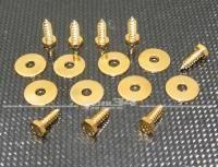 Karosserie-Schraube V2A (Kotflügel) - vergoldet