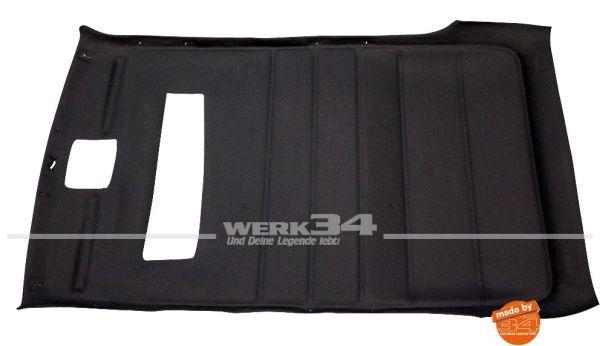 Innenhimmel, passend für Golf II 4-Türer mit Schiebedach, schwarz,