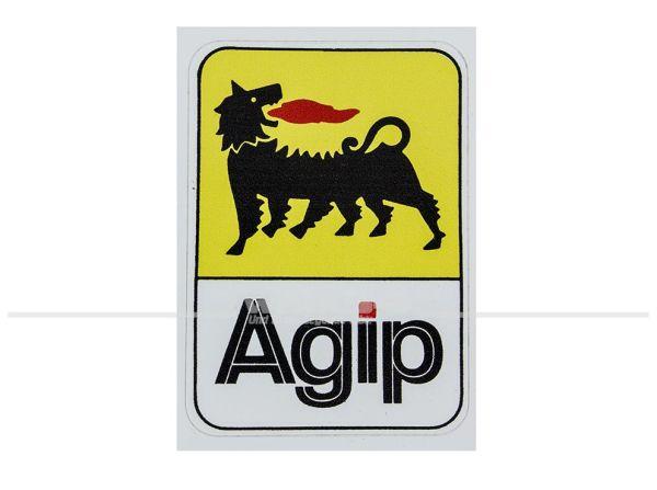 """Aufkleber """"Agip"""""""