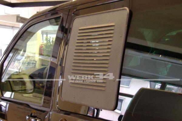 AIRvent Lüftungsgitter für Schiebefenster Bus T5/T6, links