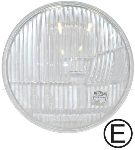 Scheinwerferglas passend für asymetrische Scheinwerfer ab 08/60 Karmann,Scheinwerfer,Elektrik