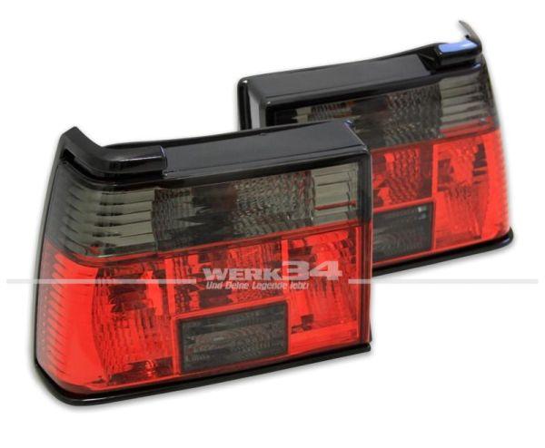 Rückleuchten rot/schwarz passend für Jetta II
