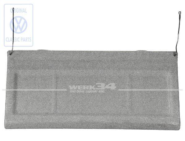Hutablage, grau, passend für Polo 86C Steilheck Baujahr -1990