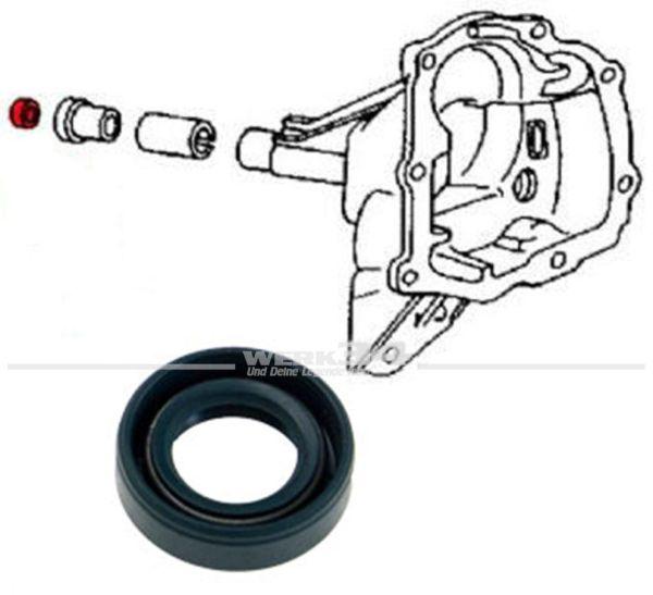 Simmering Getriebe Eingangswelle, 24 x15 x7 mm