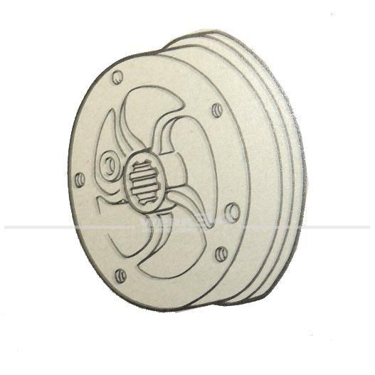 Bremstrommel hinten passend für Modelle von 09/62-07/63