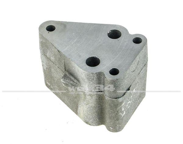 Flansch für Ölkühler, 1600 ccm CT und 2000 ccm CU, passend für T3, NOS