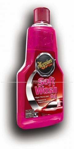 Meguiars Autopflege Autoshampoo Soft Wash Gel Shampoo (473ml), Grundpreis pro Liter: 23,04 Euro