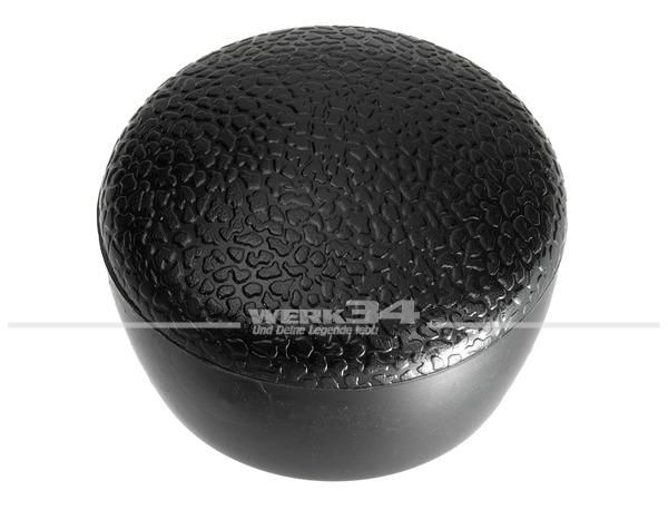 Schalthebelknopf schwarz, passend für Modelle ab 08/67 Käfer, Golf, etc.