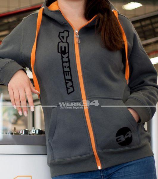 Zipper WERK34, Damen, XXL
