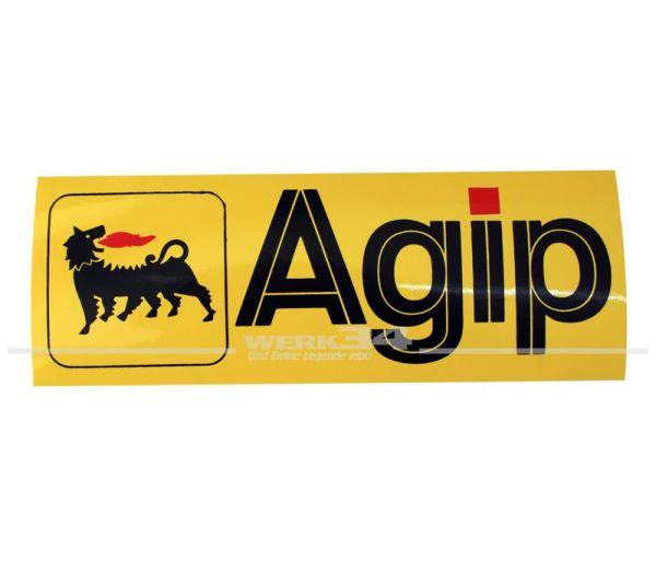 "Aufkleber ""Agip"", klein"