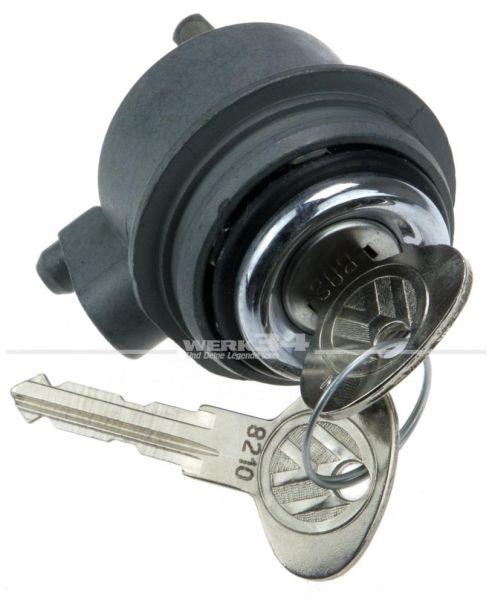 Heckklappenschloss mit zwei Schlüsseln passend für Bus T3 ab Bj. 08/83, original Teil