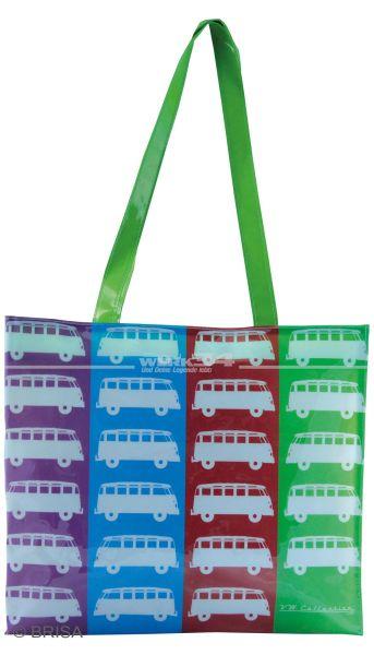 "VW Bulli PVC Shopper Bag ""Love Bus"""