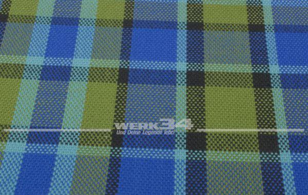 Westfalia Bezugsstoff in blau | grün | schwarz, Grundpreis: 35 EUR pro m2