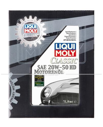 Liqui Moly Classic Motorenöl SAE 20W-50 HD (1 l), Grundpreis: 16,69 EUR pro Liter