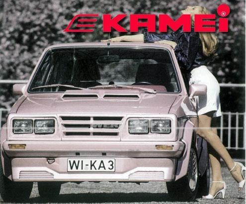Frontspoiler KAMEI X1 Golf I + Cabrio