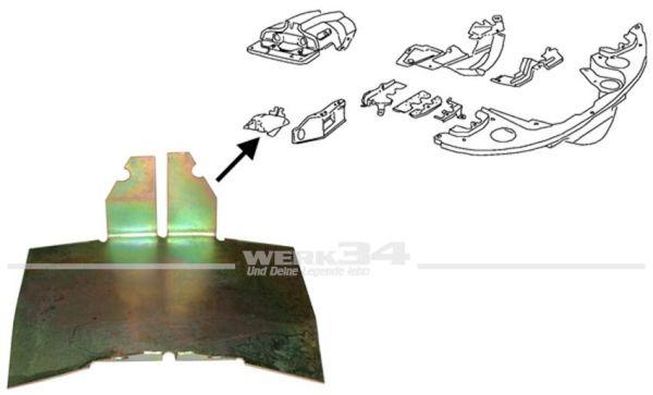 Hitzeschutzplatte für Zylinder