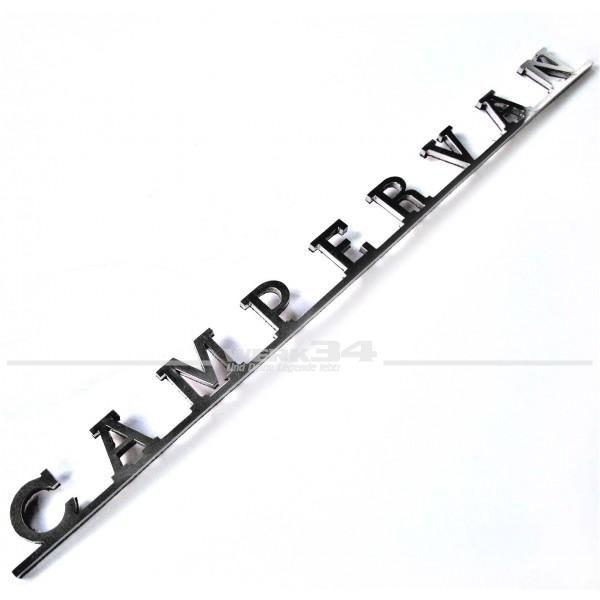 Schriftzug Campervan z.B. auf Hecklappe