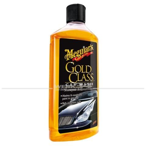 Meguiars Gold class Car Wash Shampoo & Conditioner (473ml), Grundpreis pro Liter: 29,39 Euro