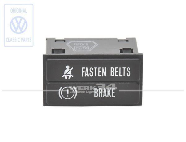 Kontrollleuchte Gurt / Bremssystem US Version